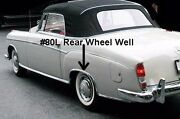 Rear Right Whell Well Molding For Mercedes 220s/220se 1956/60 Cabriolet/ Coupe