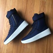  Fear Of God Military Sneaker   Size 41   Kith Blue   50 Pairs Released  