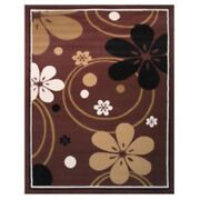 La Rugs 11-555 Brownolympic_size5and0393 X 7and039 Area Rug