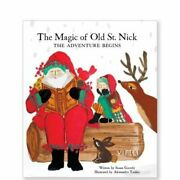 The Magic Of Old St. Nick The Adventure Begins Book W/ Doll