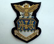 Us Air Force Bullion Patch Aviation Pin Up Usa Hat Patch Eagle Custom