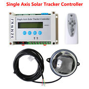 Lcd Single Axis Solar Tracker Controller For Solar Panel Tracking Sunlight Track