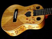 Blueberry Special Order Tenor Ukulele Love Motif - Delivery