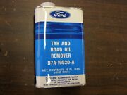 Nos Ford Tar + Road Oil Remover Collectible Can 60-70and039s
