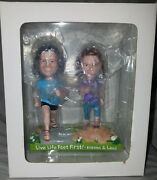 Xero Shoes Steven And Lena Bobblehead Doll Limited Edition Rare New In Box