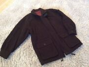 Gents Brown Wool Mix 3/4 Jacket Size 52 Exc Cond Best Price Hols 5/6 To 15/6