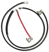 1967 1968 1969 1970 Mustang Replacement Battery Cable Set V8 Or 6 Cyl 67-22451