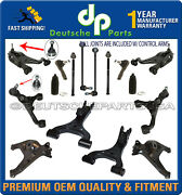 Land Range Rover Sport Front And Rear Lower + Upper Control Arm Ball Joint Kit 20