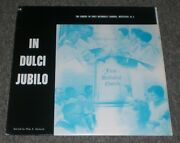 In Dulci Jubilo Choirs Of The First Methodist Church Westfield Njrare Religious