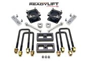 Readylift 69-5175 3 Front 1 Rear Sst Lift Kit For 2007-2018 Toyota Tundra