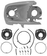 1969 Ford Mustang Headlight Housing Assembly Kit Rh Side 8 Pieces 69f-32302-m