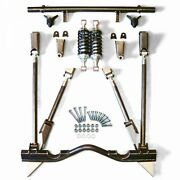55-57 Chevy Tri-5 Bel Air Triangulated Rear 4-link Suspension W/ 300lbs Coilover