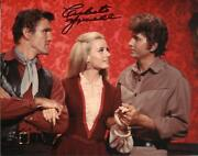 Celeste Yarnall Autograph Signed Photo Actress Bewitched Star Trek Gidget