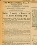Titanic British Newspapers Offended By American Investigation May 10 1912 B24