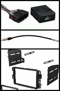 Chime Double Din Stereo Radio Install Dash Kit +wire Harness +antenna Adapter