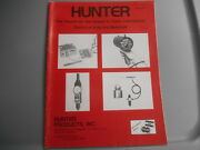 Vintage Hunter Products Tools Instruments Technical Aids And Materials Catalog 48