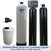 Ultimate Whole House Iron Treatment System -bacteria-iron-smells-tastes-odors-up