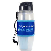 Seychelle Ph2o Pure Water Filtration Bottle With Alkaline Ph Enhanced Filter