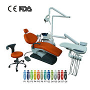 Tj2688 C3 Model Dental Unit Chair Computer Controlled Dc Motor+doctor Stool New