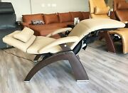 Human Touch Omni Motion Pc-610 Power Perfect Chair Recliner Genuine Sand Leather