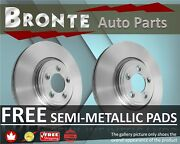 2009 2010 2011 For Volvo S80 Disc Brake Rotors And Pads Front W/316mm Dia