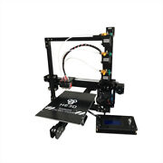 He3d Prusa I3 Large Tricolor 3d Printer With Lcd Screen Diy Reprap Complete Kit