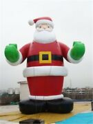26ft 8m Inflatable Advertising Promotion Giant Christmas Santa Claus With Blo Wq