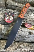Swamp Rat Knife Works M9 Unused Busse Family Knife Awesome Chopper G10