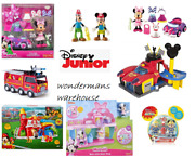 Disney Junior Mickey/minnie Mouse Clubhouse Toy Playsets/figures - Brand New