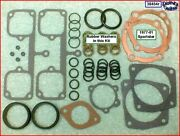 Top End Gasket Kit Copper Hg, Rubber P/r Seals 77-81 Iron Sportster Ref 17030-73