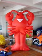 20ft 6m Advertising Giant Inflatable Lobster Restaurant Promotion Free Blower Fo