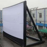 97m Giant Inflatable Movie Screen Outdoor Inflatable Screen With 2 Blowers N Zf