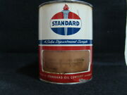 Vintage Standard Oil Company Sales Department Sample One Pound Can