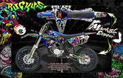 Yamaha 1993-2019 Yz65 Yz80 Yz85 Ruckus Number Plate And Fender Wrap Graphics