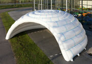 Inflatable Family Camping Recreation Dome Igloo Tent W/ Blower Brand New