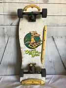 Vintage 80and039s Old School Off The Wall Skateboard Deck And Trucks 1980and039s