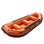 Inflatable 1.2mm Pvc Self Baling Floating White Water River Raft W/ Pump New