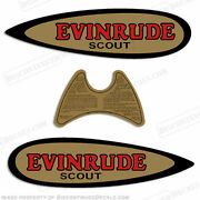 Evinrude 1937-1941 .9hp Scout Decal Kit - Discontinued Decal Reproductions