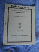 Wwii Army Air Corps Technical Schools1940 Book, Electrical Fundamentals