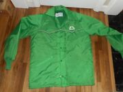 Vintage Size M Pioneer Seed Corn Agriculture Farm Feed Advertising Lined Jacket