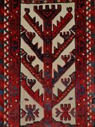 Splendid 19thc Antique Yomud Turkoman 9and039 Long Tent Band Fragment. A+ Dyes And Cond