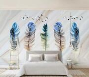 3d Feather River 8 Wall Paper Exclusive Mxy Wallpaper Mural Decal Indoor Wall Aj