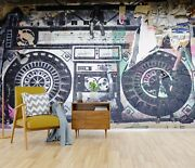 3d Painted Sound 91 Wall Paper Exclusive Mxy Wallpaper Mural Decal Indoor Wal Aj