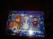 Year Without A Santa Claus Heat Miser Mrs. Claus And Jingle Action Figure Set