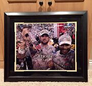 Steelers Le Team Signed Sb Xl Framed Nfl Football Photo Picture Mm Bettis Ward