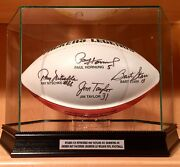 Ray Nitschke Bart Starr Jim Taylor Paul Hornung Signed Packers Nfl Football Bas