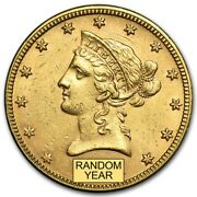 Special Price Us Gold 10 Liberty Head Gold Eagle Random Date Au Condition