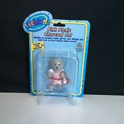 New In Package Webkinz Figures Pink Picnic Charcoal Cat