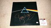 Roger Waters Signed Autograph The Dark Side Of The Moon Lp Pink Floyd