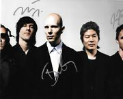 A Perfect Circle Signed 8x10 Photo Howerdel, Mcjunkins, Friedl 1